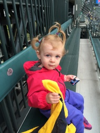 Cheering for King Felix!